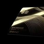 Színarany luxusbankkártya készül az igazán igényeseknek, 7 millió forintba kerül