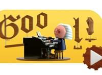 Miért van ez a fura bábu a Google főoldalán? És hogy jön ide Johann Sebastian Bach?