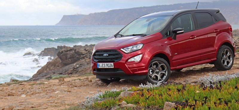 Békának a csók? Vezettük az új Ford EcoSportot