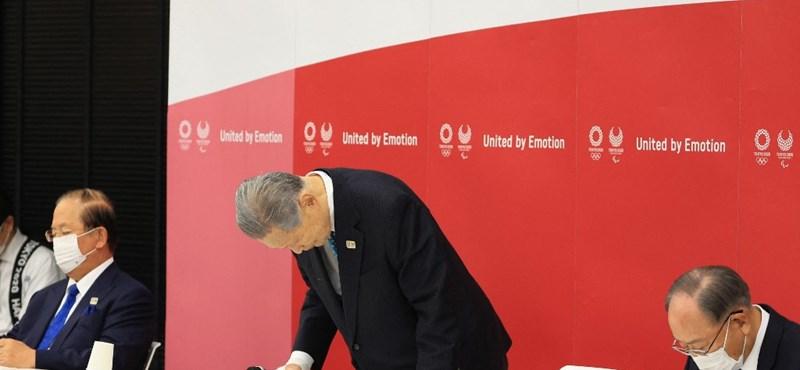 Lemondott a tokiói olimpia főszervezője, Mori Josiro