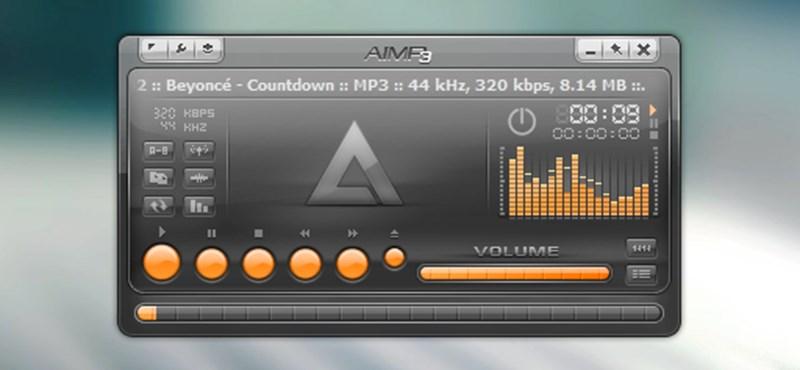 Letölthető az AIMP 3.0 zenelejátszó RC3-as verziója