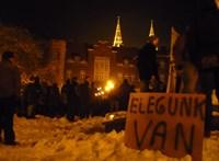 Nem leszünk rabszolgák! - Szegeden is tüntettek a kormány és a túlóratörvény ellen