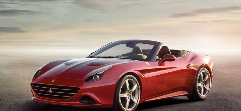 Felturbózta a Californiát a Ferrari