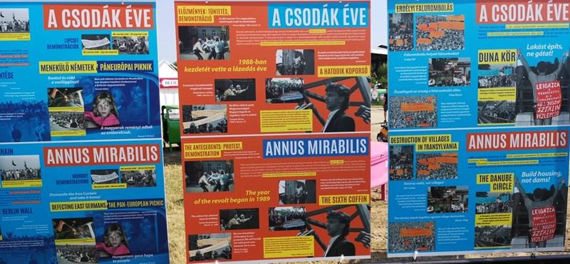 Orwell Sopronban – avagy mit keres a propaganda a VOLT-on?