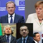 Hét ember, akik körül az EU forog 2017-ben