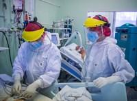 Koronavírus: elhunyt 214 beteg, 3 millió 419 ezer a beoltottak száma