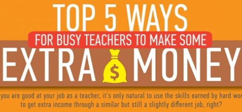Mivel szereznek pluszpénzt a tanárok?