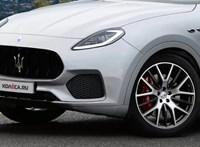 Lehámozták az álcázást a Kőbányán is felbukkant titokzatos új Maseratiról