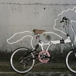 Közlekedj okosan, de vidáman - egy kerékpár, ami lónak öltözött