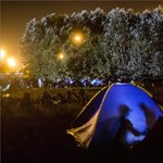 Fotók: sátrak az M5-ösön - így telt az éjszaka Horgosnál