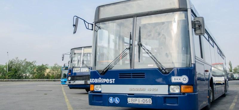 Eltüntettek több BKK-buszt nyár óta – fotók