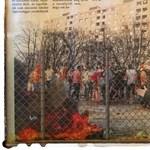 A panelek közé photoshoppolt migránsokkal riogat Harrach Tamás