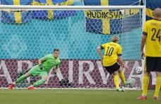 Svédország 1-0-ra tudott nyerni az Eb leggyengébb meccsén