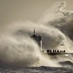 Fotó: gigahullám csapott le Nagy-Britannia partjaira