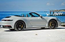 12 másodperc, és nyár van – Porsche 911 kabrió menetpróba