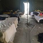 Mocsok és embertelen állapotok várják a menekülteket a körmendi táborban