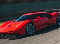 Itt a legújabb Ferrari, amiből ez az egyetlen darab készült – videó
