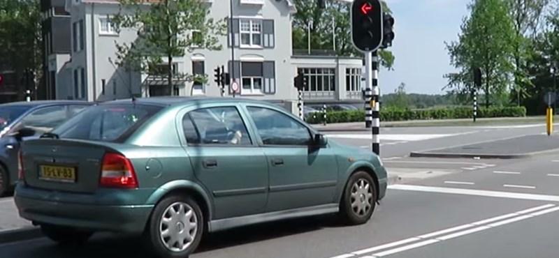 Tolatóradar: A hollandok megcsinálták a tökéletes jelzőlámpát