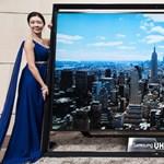 Tényleg elképesztő: ilyen a világ legnagyobb Ultra HD TV-je