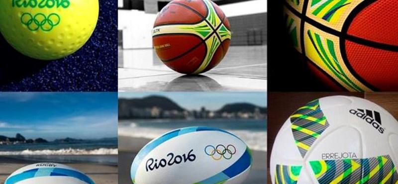 Fotók: bemutatták az olimpia hivatalos labdáit