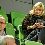 Schmidt Mária is a Groupama Arénában szurkol
