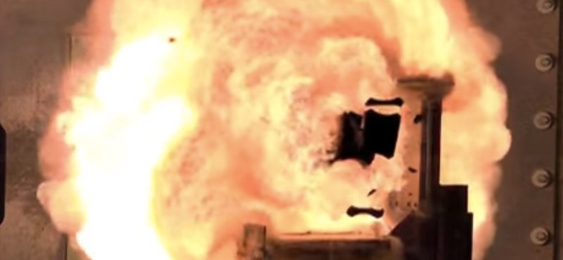 Sci-fibe illő fegyver az amerikai hadseregnél