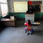 Képek: ilyen a világ legkisebb iskolai osztálya