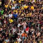 Nagyítás: tüntető egyetemisták és tanárok özönlötték el Barcelonát