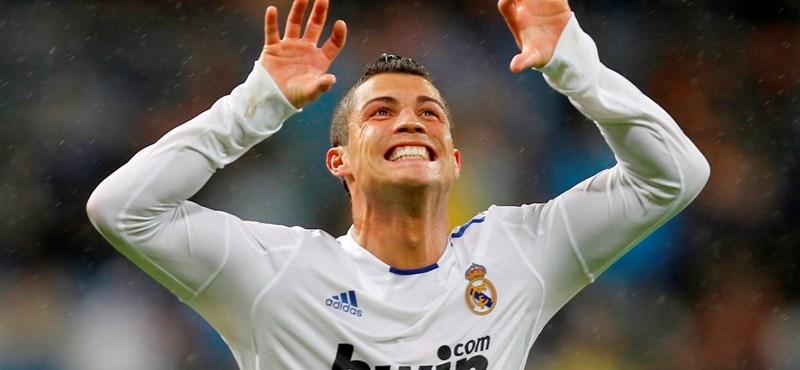 Ronaldo megdöntötte Puskás Ferenc ötvenéves rekordját
