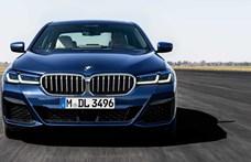 Leleplezték a megújult 5-ös BMW-t