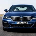 Magyarországon a felfrissített új 5-ös BMW