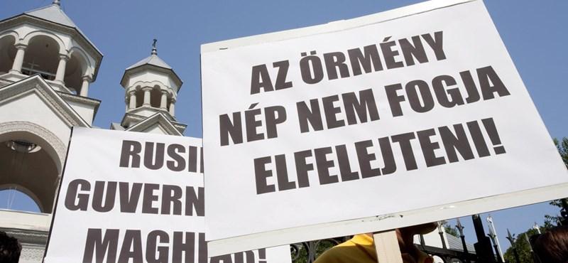 Orbánék jegyzékben próbálnak békülni az örményekkel