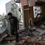 Több tucat kormánykatona halt meg a Szíria elleni új légicsapásban