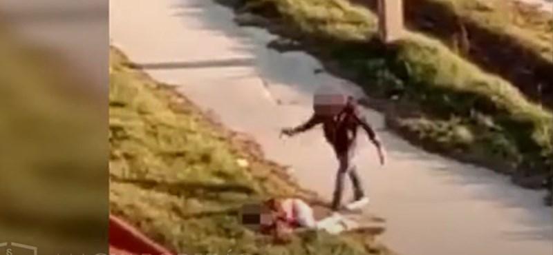 A nyílt utcán verte meg élettársát egy részeg férfi Tatabányán
