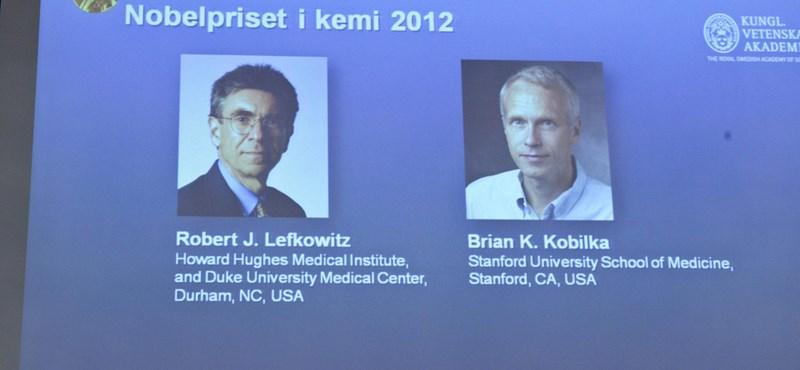 Amerikai kutatók kapták idén a kémiai Nobel-díjat