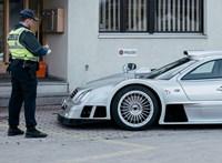 Pofátlanul parkoló szuperautók leptek el egy svájci kisvárost