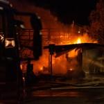 A Szentendrén leégett Spar dolgozói először lemondták a riasztást
