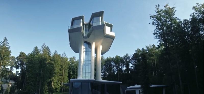 Ilyen lett a ház, amit az orosz James Bondnak tervezett Zaha Hadid