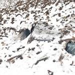 Egy lopott Audi bukkant elő, amikor elolvadt a négyméteres hó egy szlovák hegyen
