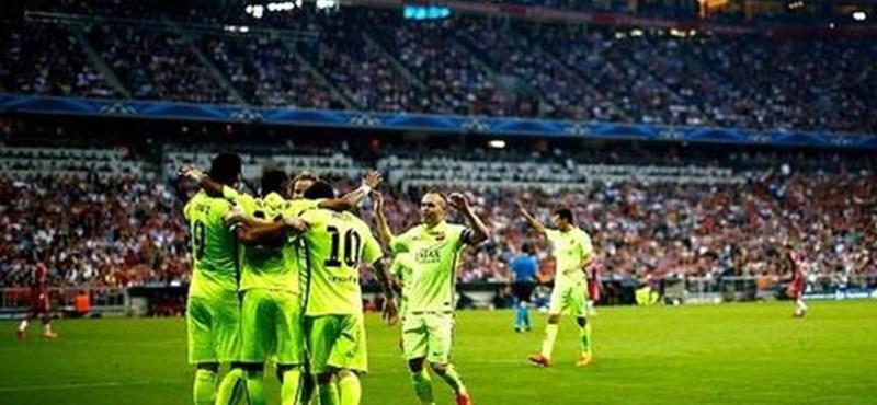 Madridban lett bajnok a Barcelona
