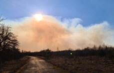 Magyarországon nem emelkedett a háttérsugárzás a Csernobil melletti erdőtűz miatt