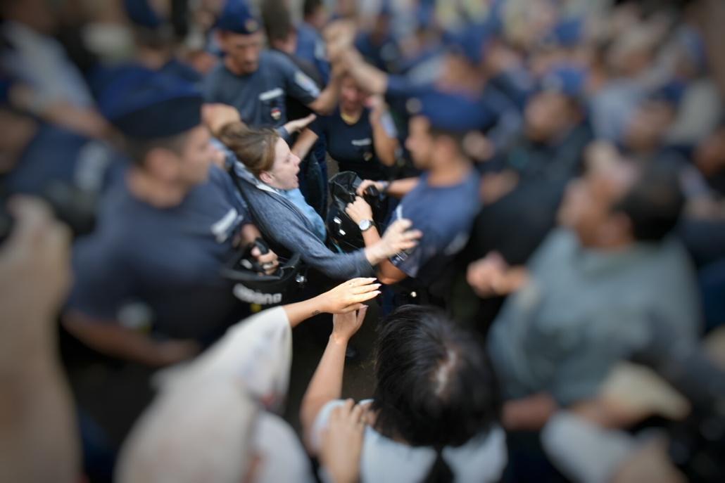ligetvédők tüntetés