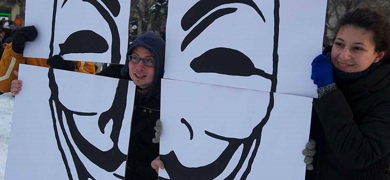 Európa az utcára vonult az ACTA miatt