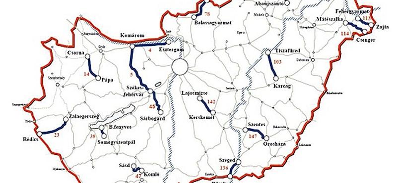 Újfajta vonatjegyet vezetnek be 15 vonalon – térkép