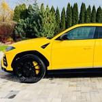 110 millió forintért árulnak Sajószentpéteren egy citromsárga Lamborghini Urust