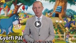 """""""Csináljátok meg minden nap a leckét!"""" - üzeni Győrfi Pál új videójában"""