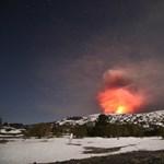 Csaknem megölt az Etna egy forgatócsoportot