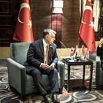 Fotó: Ilyen szórólapokkal várja Erdogant a Momentum