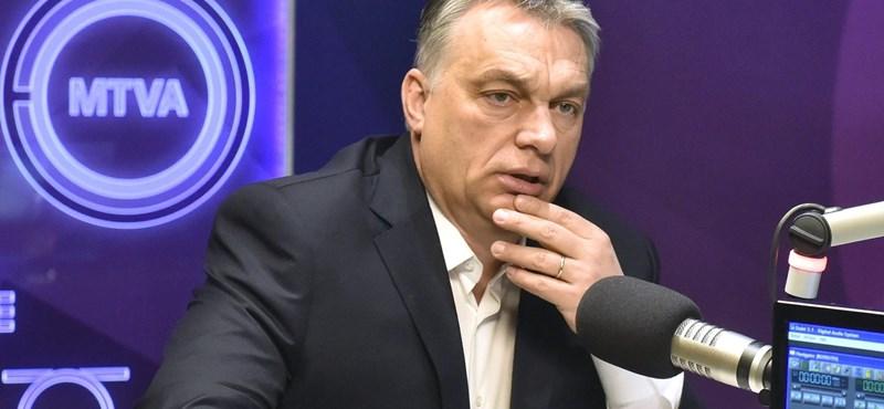 """Orbán: a Momentum Mozgalom az """"új SZDSZ"""""""