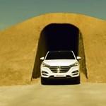 Világhírű lett a tököli aszfaltcsík a Hyundainak köszönhetően – videó
